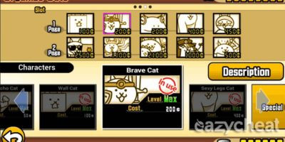 the battle cats hack mod apk