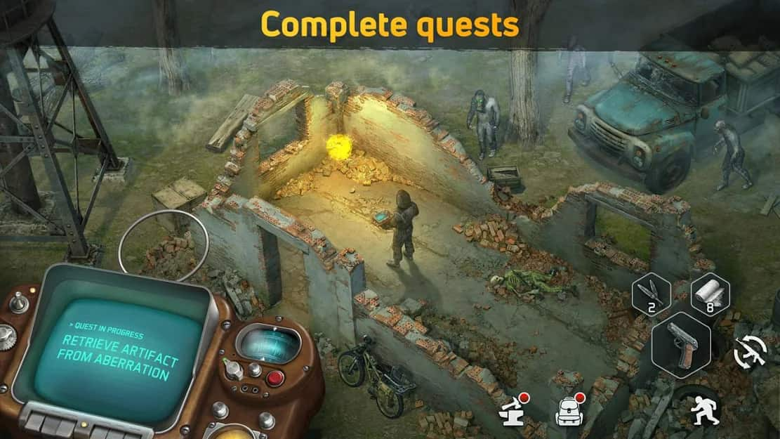 drawn of zombies apk mod