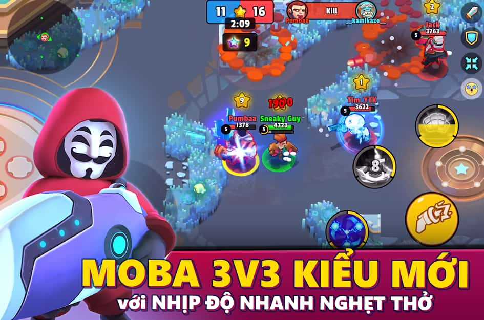 tai game heroes strike apk