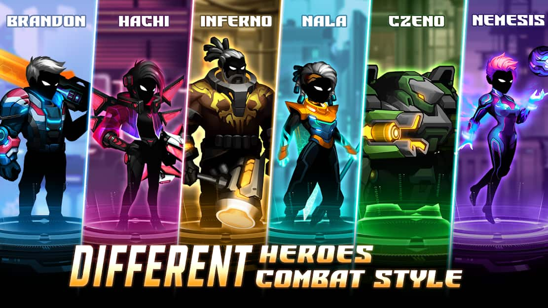 tai game cyber fighters mod