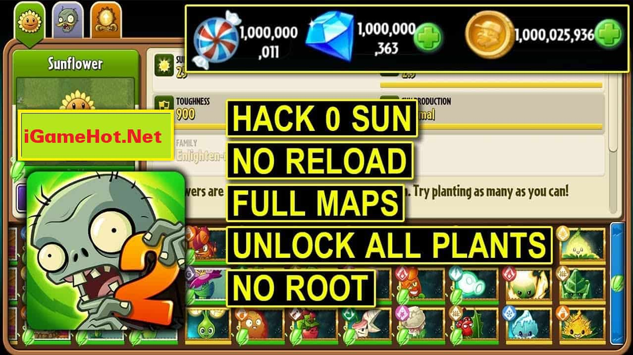 tai plants vs zombies 2 hack