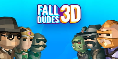 fall dudes 3d apk - igamehot