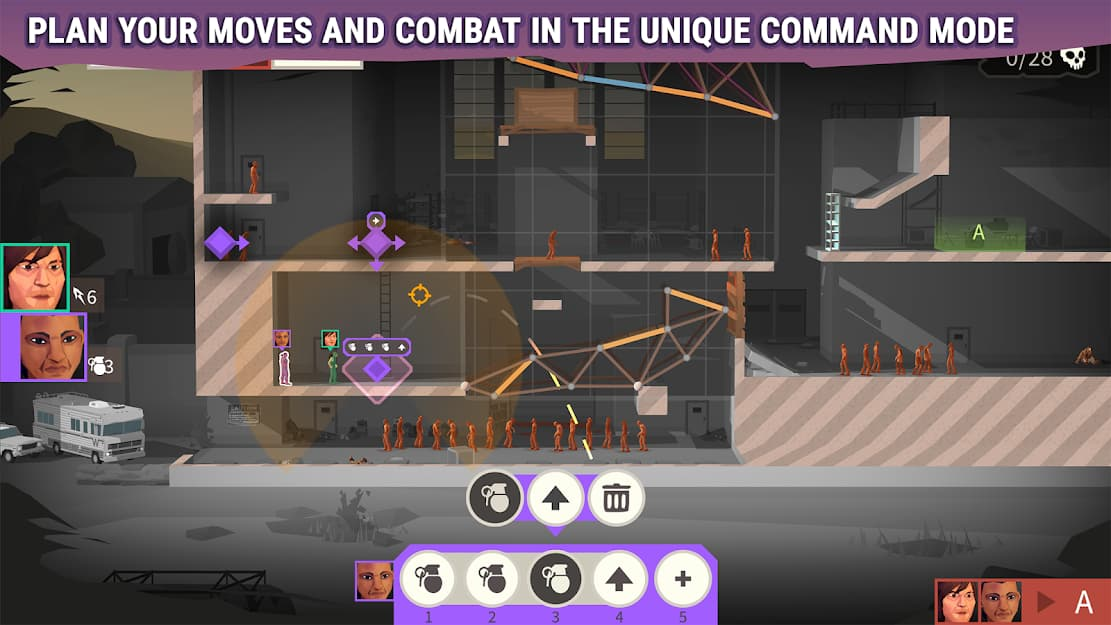gameplay bride constructor the walking dead
