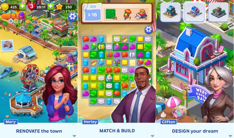 match town makeover apk download