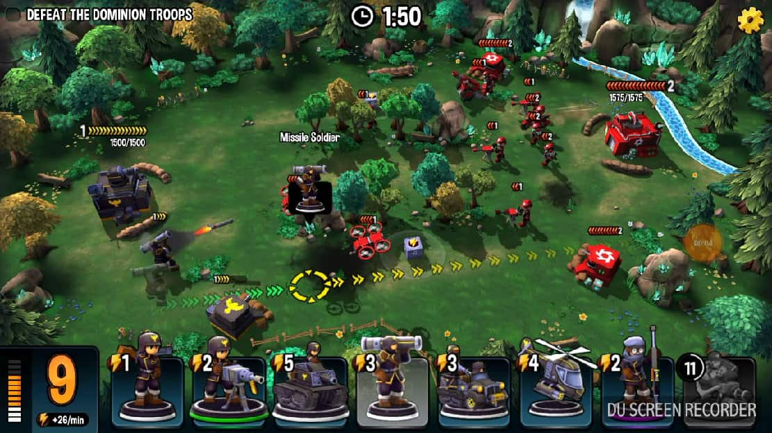 mini guns omega wars mod apk