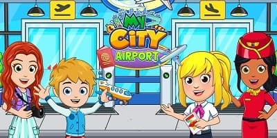my city airport apk mod - igamehot