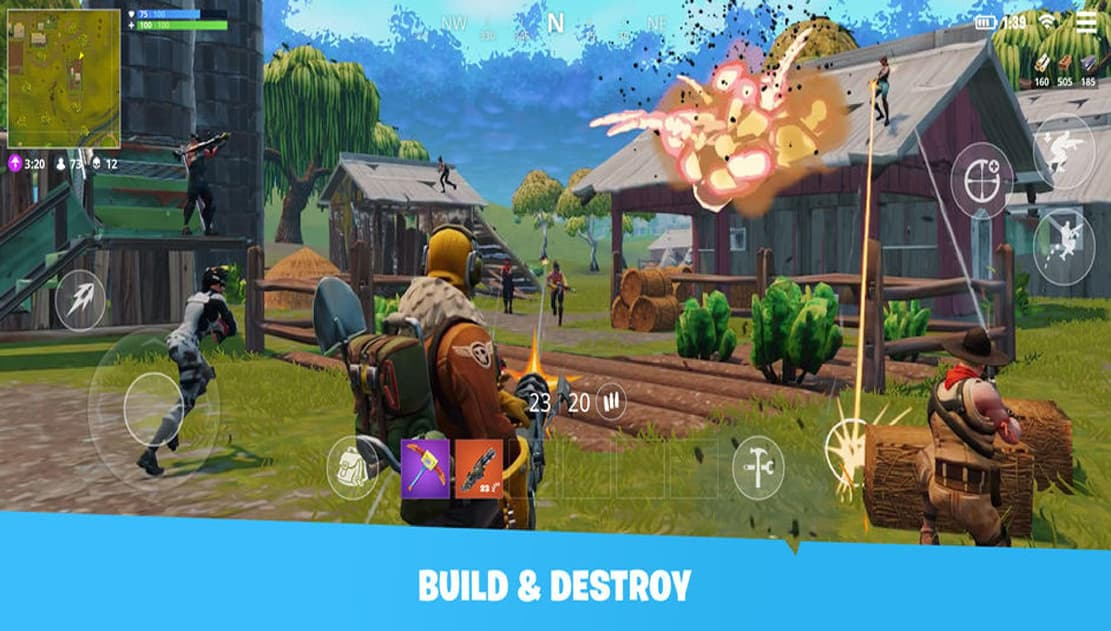 tai game Fortnite cho android