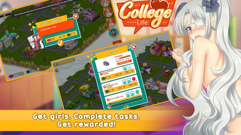 college life mod free shopping - igamehot