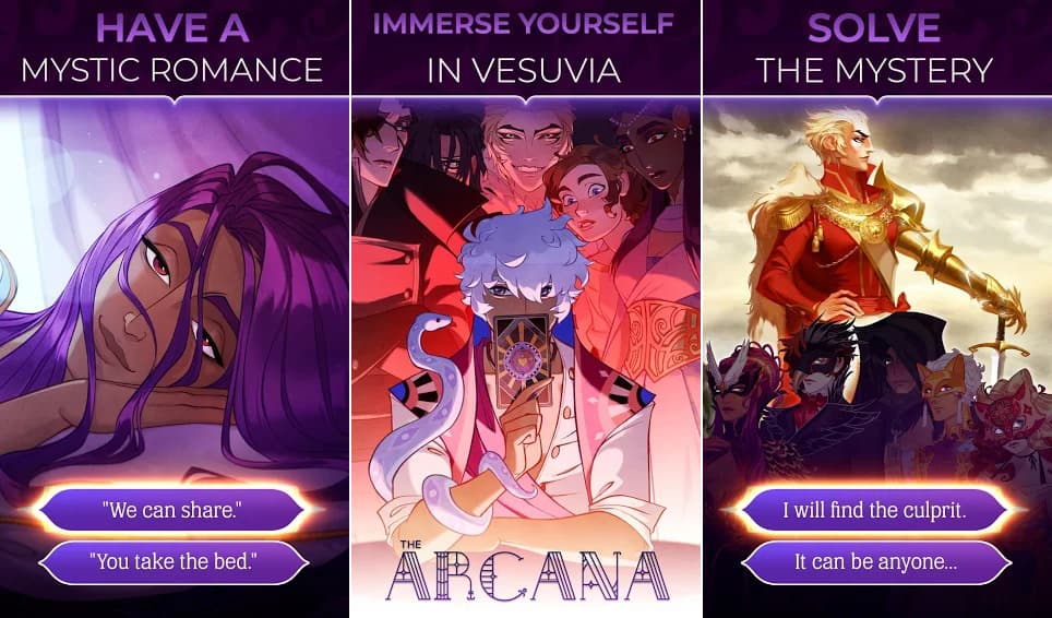 the arcana a mystic romance hack