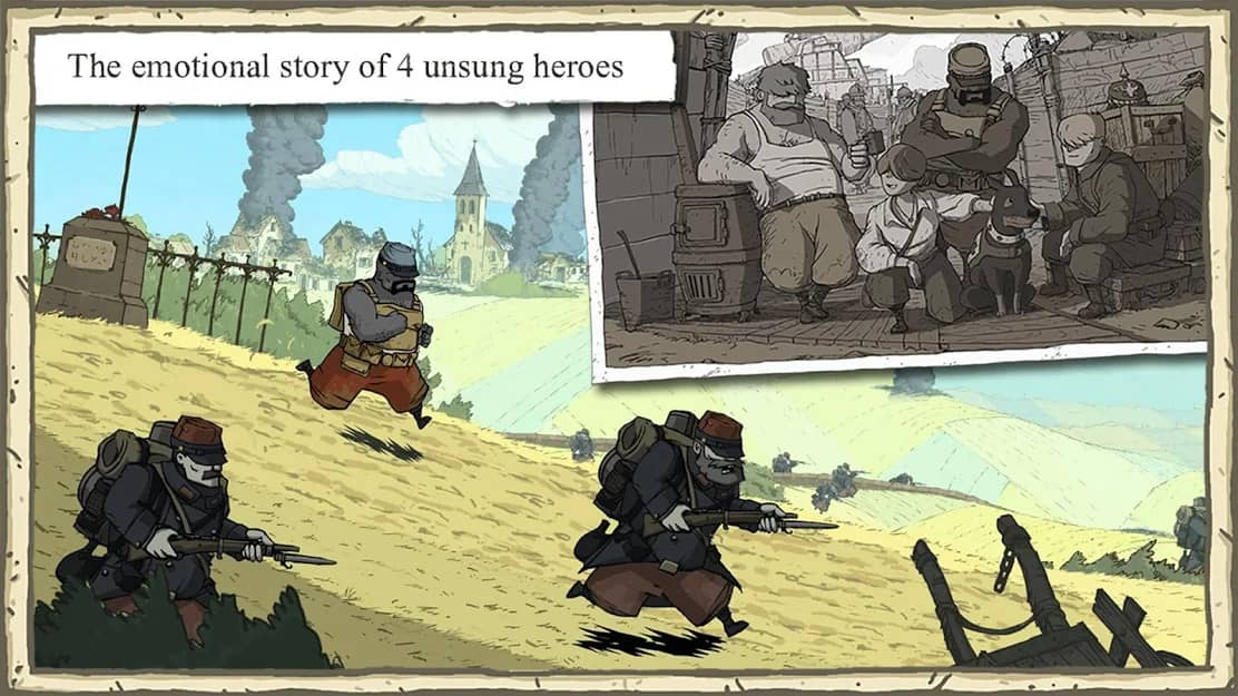 download valiant hearts cho android