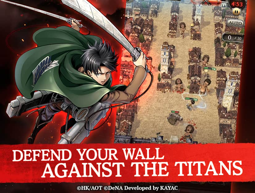 tai game attack on titan tactics cho android