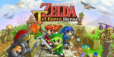 The Legend of Zelda: Tri Force Heroes 3DS ROM CIA