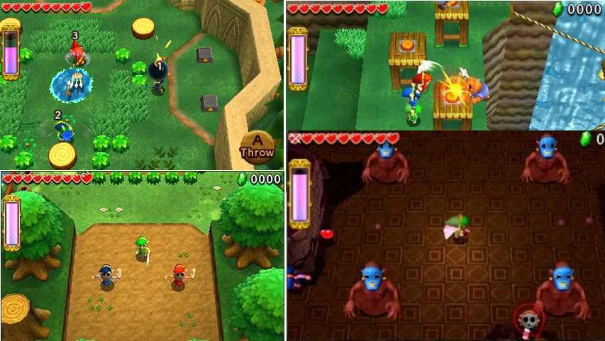 The Legend of Zelda: Tri Force Heroes 3ds rom