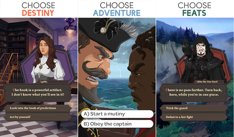 stories your choice hack