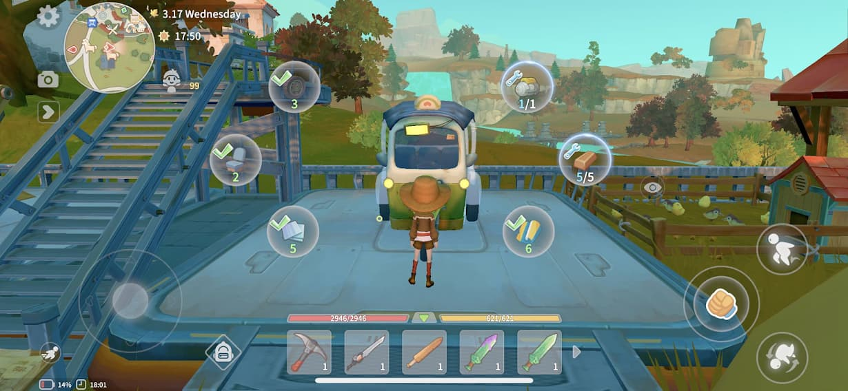 my time at portia cho android