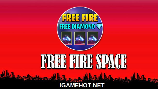 free fire space 2021